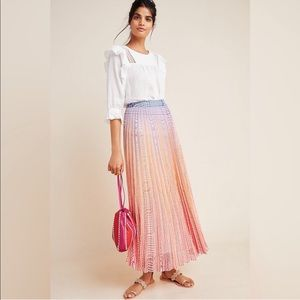 ✨NWT Anthropologie Dawn Maxi Skirt